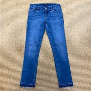 White House Black Market Petites Jeans Size 2 slim